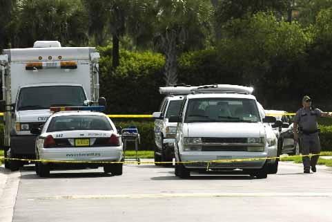 La police de Collier County a bouclé le... (Photo AP)