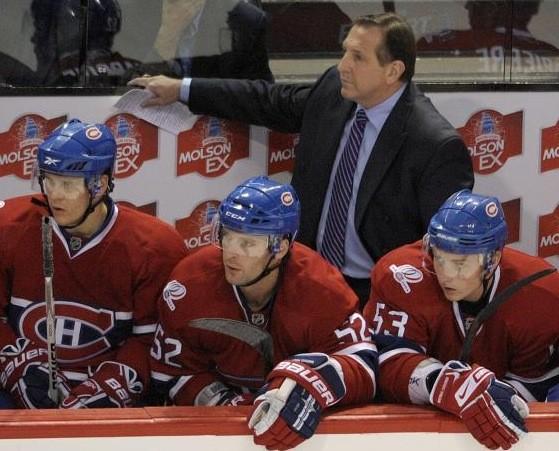 L'entraîneur du Canadien Jacques Martin... (La Presse Canadienne)