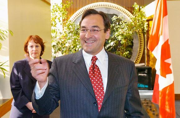 L'ex-ministre Martin Cauchon serait candidat à une éventuelle... (Photo: Rémi Lemée, Archives La Presse)