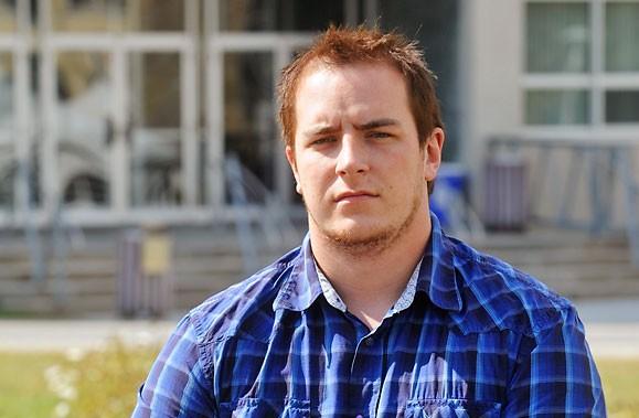Maxime Duranleau est suspendu de l'Université de Sherbrooke... (Photo: La Tribune)