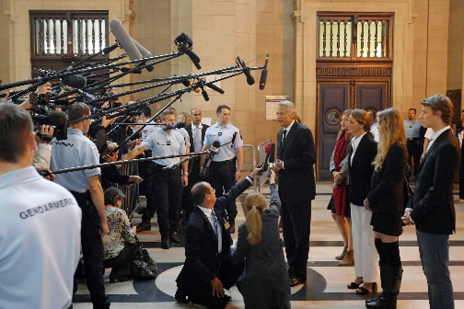 L'ancien premier ministre français Dominique de Villepin a... (Photo AFP)