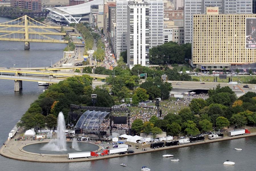 Pittsburgh (Pennsylvanie) s'apprête à accueillir, les 24 et... (Photo: AP)