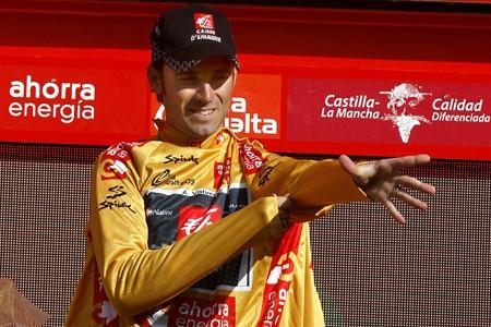 Alejandro Valverde a remporté le Tour d'Espagne dimanche.... (Photo: AFP)
