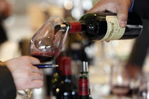 Bon temps pour une chronique vins et mets olympique, question de... (Photo: AP)