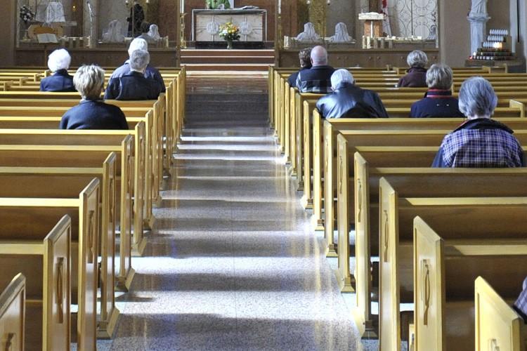 Depuis quelques semaines, les fidèles qui... (Photo: Archives Le Soleil)