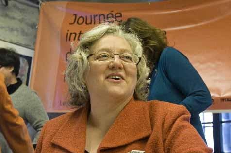 Michèle Asselin... (Photo David Boily, Archives La Presse)