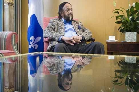 Rajendra K. Pachauri est de passage au Québec.... (Photo Ivanoh Demers, La Presse)