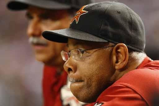 L'ex-gérant des Astros, Cecil Cooper.... (Photo AP)