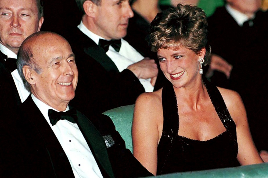 Valéry Giscard d'Estaing en compagnie de la princesse... (Photo: archives Reuters)