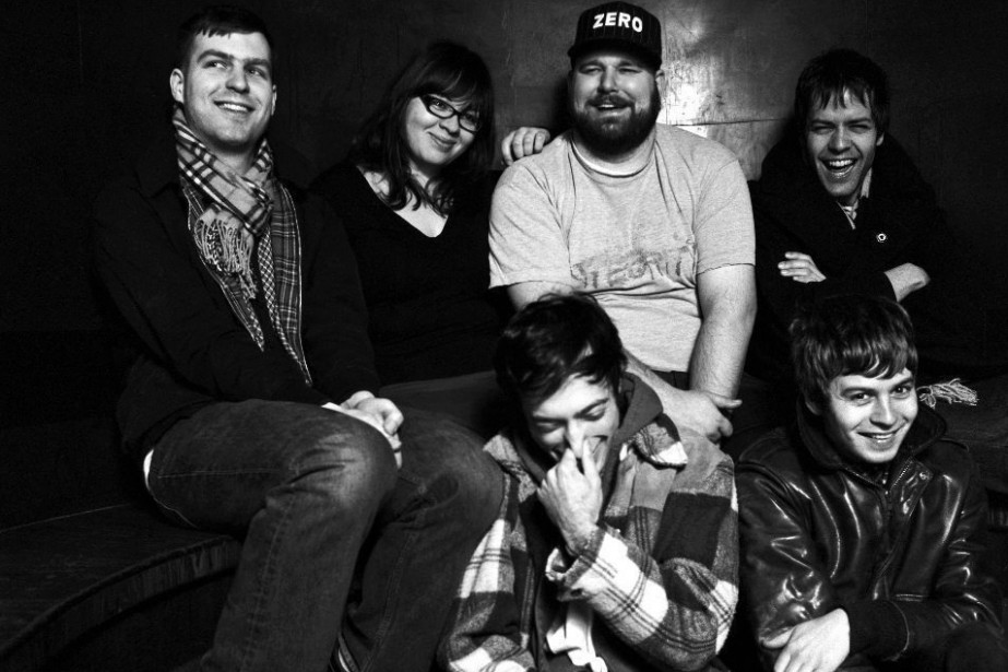 Les membres du groupe Fucked Up.... (Photo: PC)