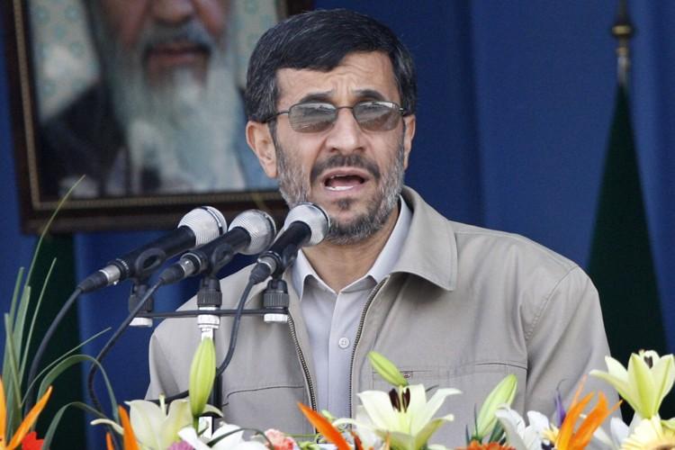 Le président iranien, Mahmoud Ahmadinejad.... (Photo: AP)
