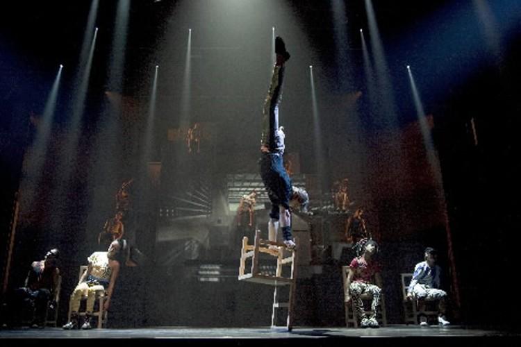 Les spectacles de cirque se multiplient... (Photo: fournie par le cirque Eloize)
