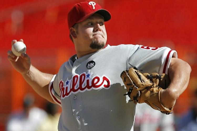 Le lanceur des Phillies de Philadelphie, Joe Blanton.... (Photo: Reuters)