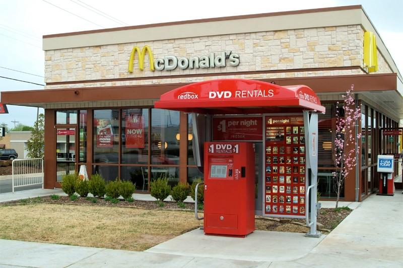 Les machines distributrices de DVD pullulent aux États-Unis,... (Photo Bloomberg)