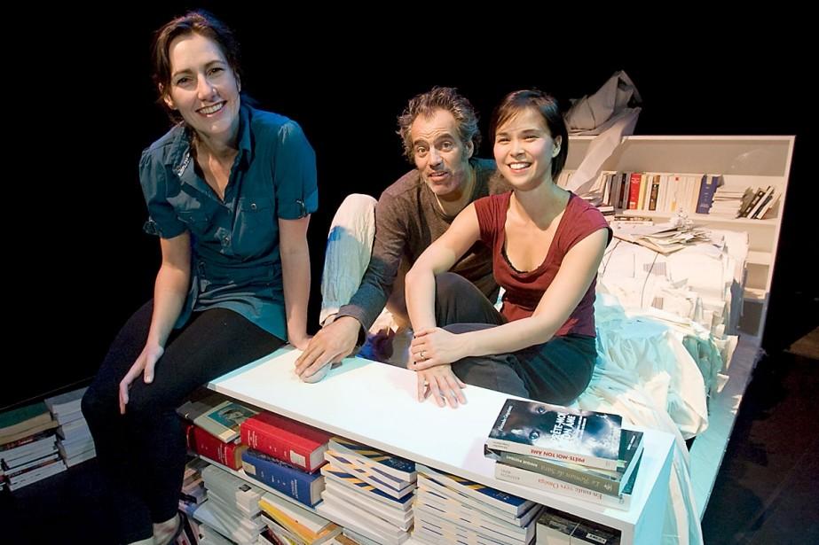 Catherine Lalonde (à gauche), directrice artistique du spectacle... (Photo: David Boily, La Presse)
