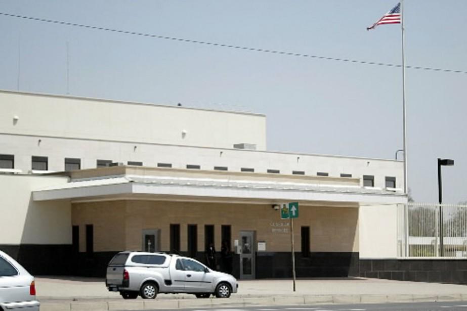 Le consulat américain de Johannesburg est fermé pour... (Photo AP)