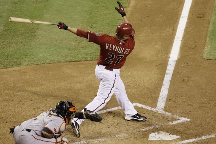 Mark Reynolds a été retiré au bâton pour... (Photo: AP)