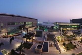 Vue de la King Abdullah University of Science... (Photo AFP)