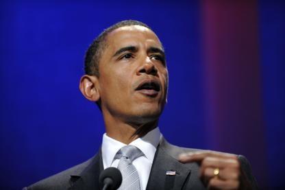 Barack Obama... (Photo, Agence France Presse)