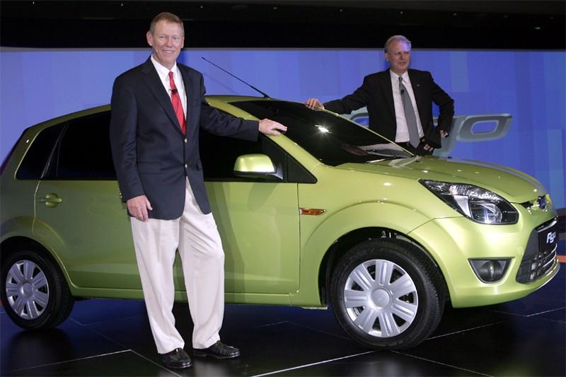 La Ford Figo lancée en Inde le 23... (Photo Agence France-Presse)
