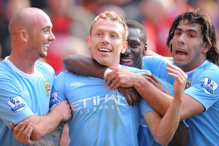 Manchester City a dépensé plus de 120 millions... (Photo: AFP)