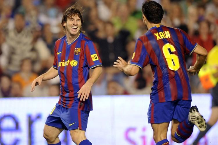 Lionel Messi a marqué cinq buts en quatre... (Photo: AFP)