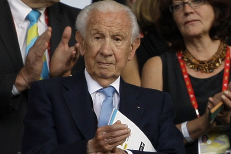L'ancien président du CIO, Juan Antonio Samaranch... (Photo: AP)