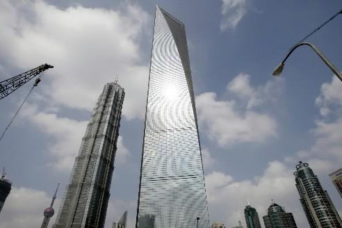 Le Shanghai World  Financial... (Photo: AP)