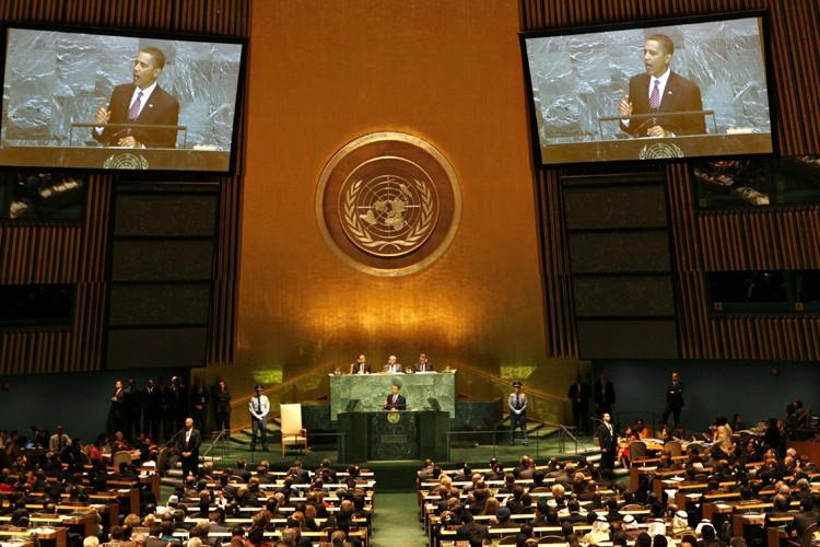 Le président américain Barack Obama a menacé mercredi l'Iran... (Photo: Reuters)