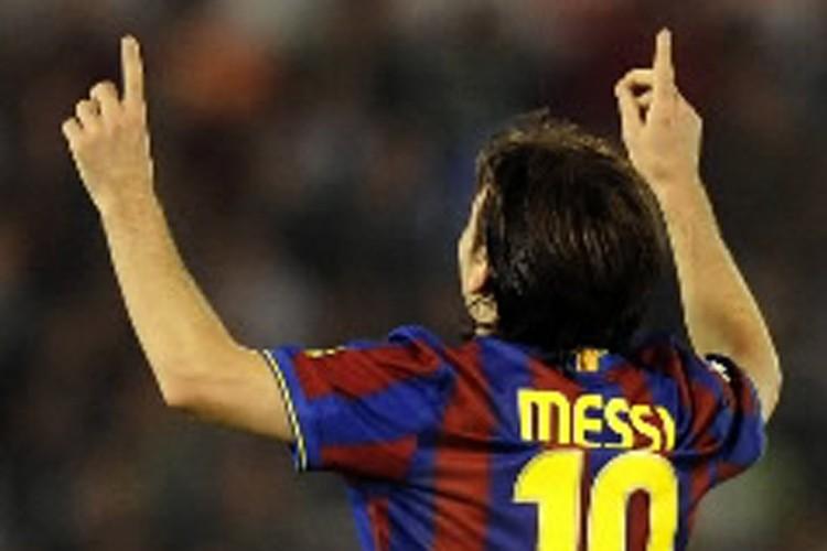 Le joueur argentin du FC Barcelone, Lionel Messi.... (Photo: AFP)