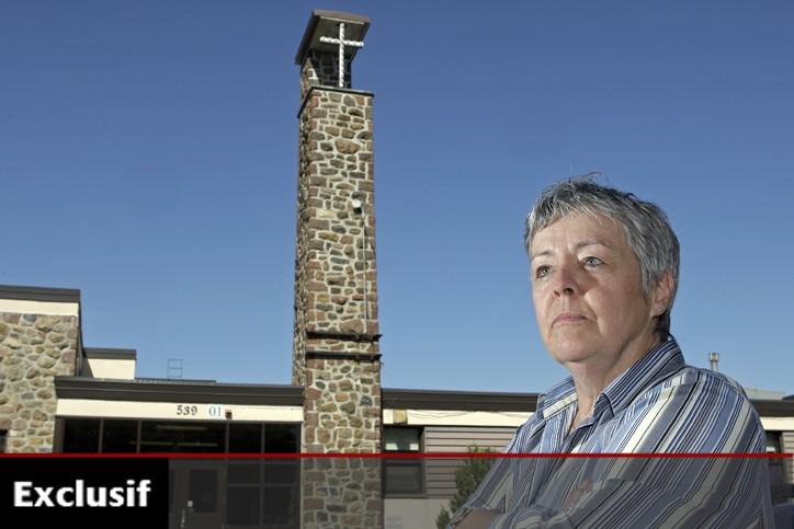 Éducatrice spécialisée à l'école Saint-Louis de Terrebonne, Diane... (Photo: Robert Mailloux, La Presse)