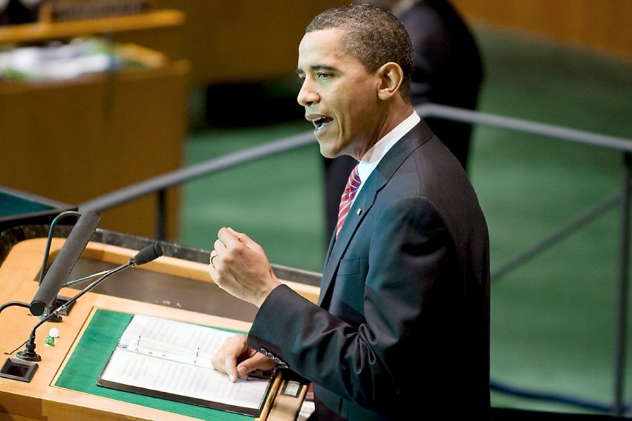 Le discours du président Obama lui a valu... (Photo AFP)