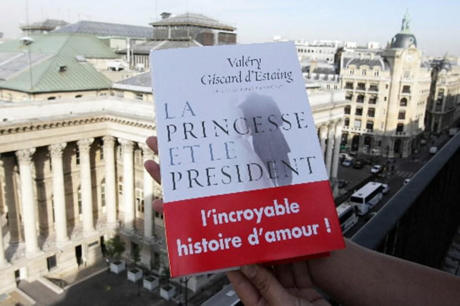 Le roman de Valéry Giscard d'Estaing, La princesse... (Photo AFP)