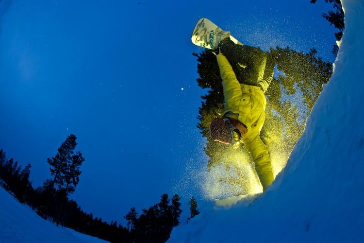 Le Shakedown, le «plus grand événement de snowboard... (Photo: Oakley)