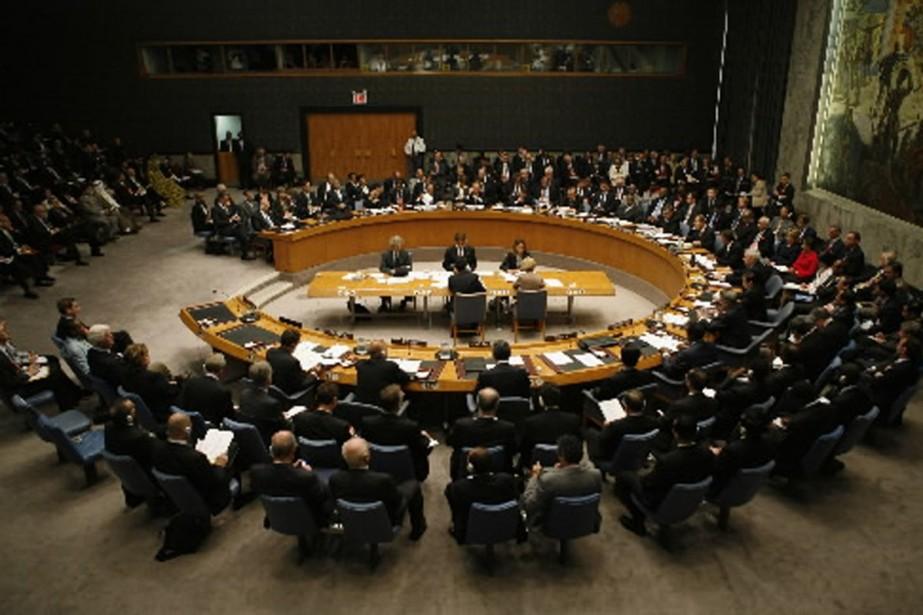 Le conseil de sécurité de l'Onu s'est réuni... (Photo Reuters)