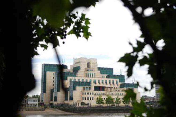 Le siège du MI-6 à Londres.... (Photo: Courrier international)