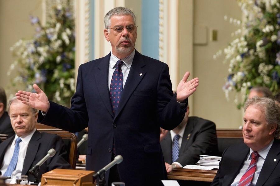 Le ministre de la Sécurité publique, Jacques Dupuis,... (Photo: Archives PC)