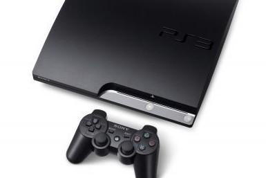 La nouvelle version amincie de la console de salon PlayStation 3 (PS3) de Sony...