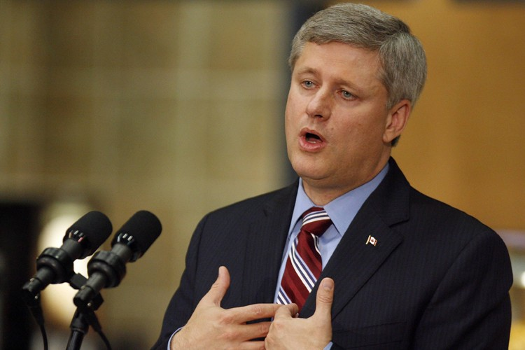 Stephen Harper... (Photo: Reuters)