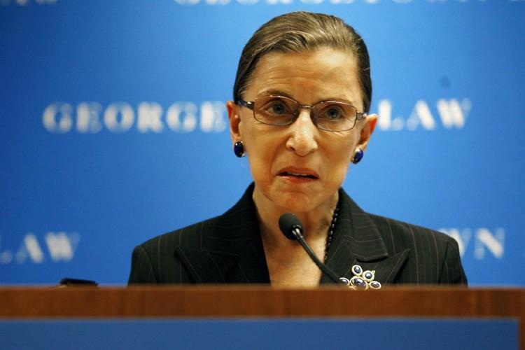 Ruth Bader Ginsburg... (Photo: AP)