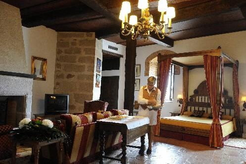 L'hôtel de luxe Pasencia, en Espagne... (Photo: AFP)