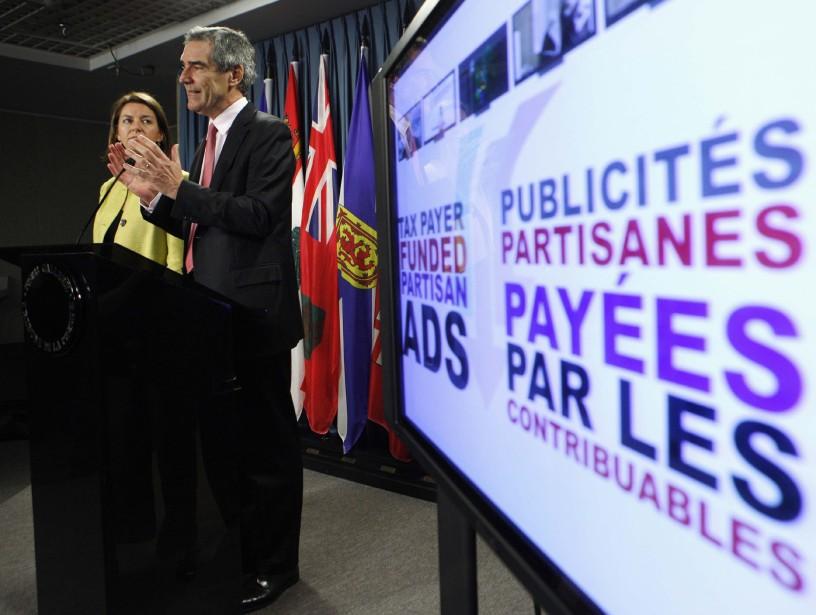 Michael  Ignatieff et Martha Hall Findlay ont... (Photo: Reuters)