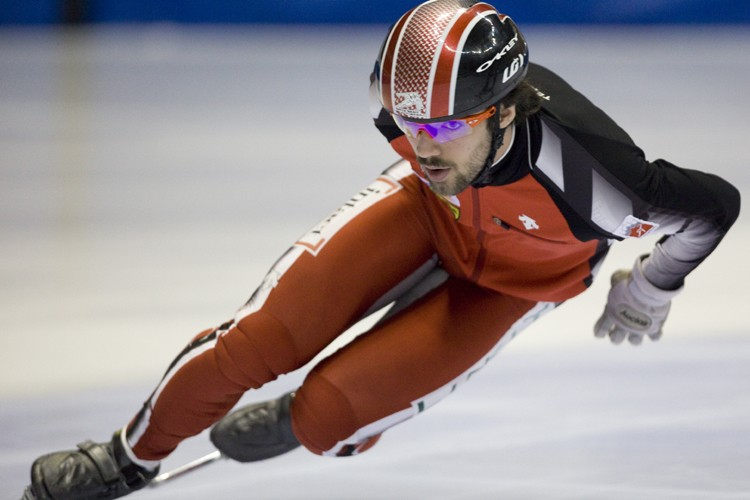 Charles Hamelin... (Photo: David Boily, La Presse)