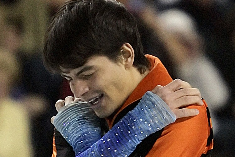 Stéphane Lambiel... (Photo: AP)