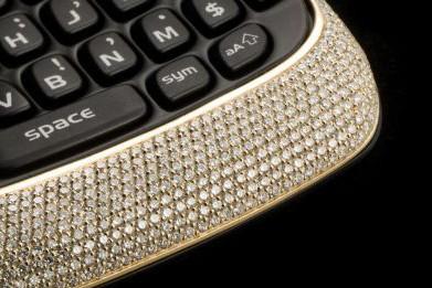 Un BlackBerry de luxe à 200 000 $.... (Photo relaxnews)