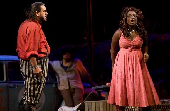 Mis en scène par Alain Gauthier, les opéras... (Photo André Pichette, La Presse)