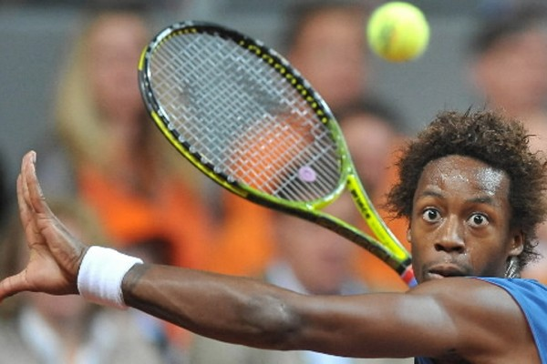 Gael Monfils... (Photo: AP)