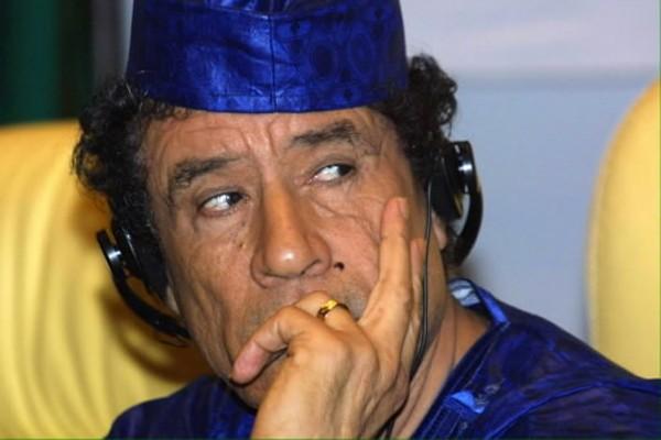 Mouammar  Kadhafi... (Photo: AFP)