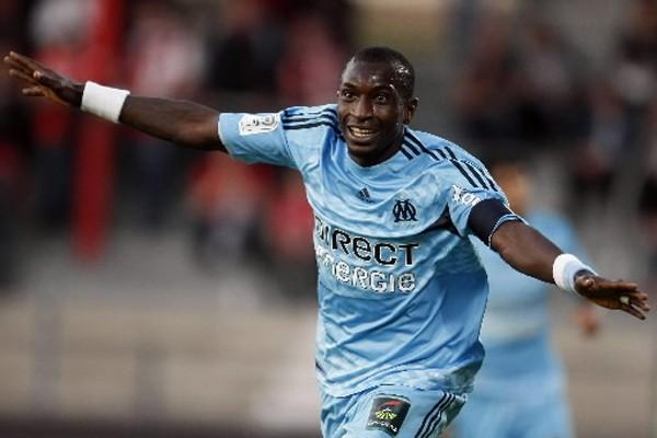 Mamadou Niang de l'OM... (Photo: AP)