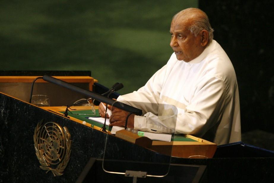 Ratnasiri Wickramanayaka... (Photo AFP)